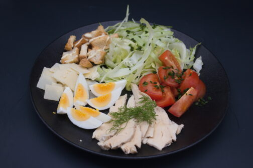 salade César poulet