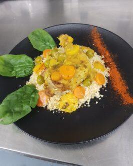 Le plat hors menu (Tajine de Poulet aux olives et citron confit)